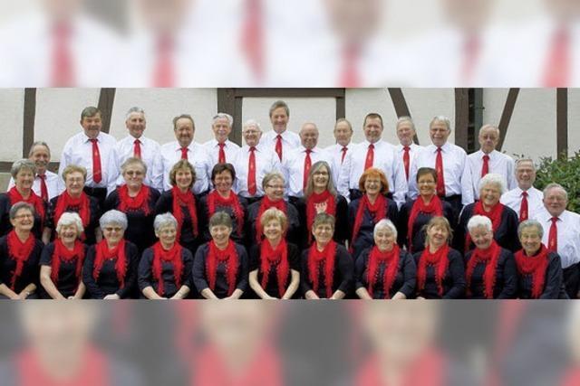 Schallbacher Sänger feiern drei Tage 150. Geburtstag