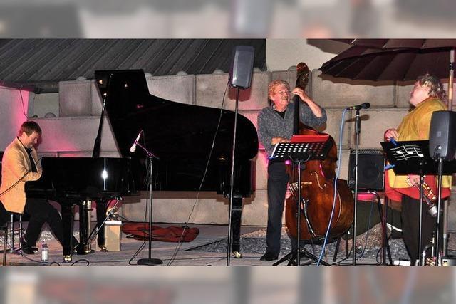 Drei sturmerprobte Jazzmusiker der Extraklasse
