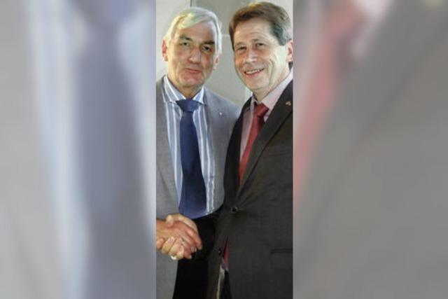 Lothar Schüssele neuer Lions-Präsident