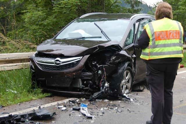 Schwerer Unfall bei Schluchsee – fünf Verletzte