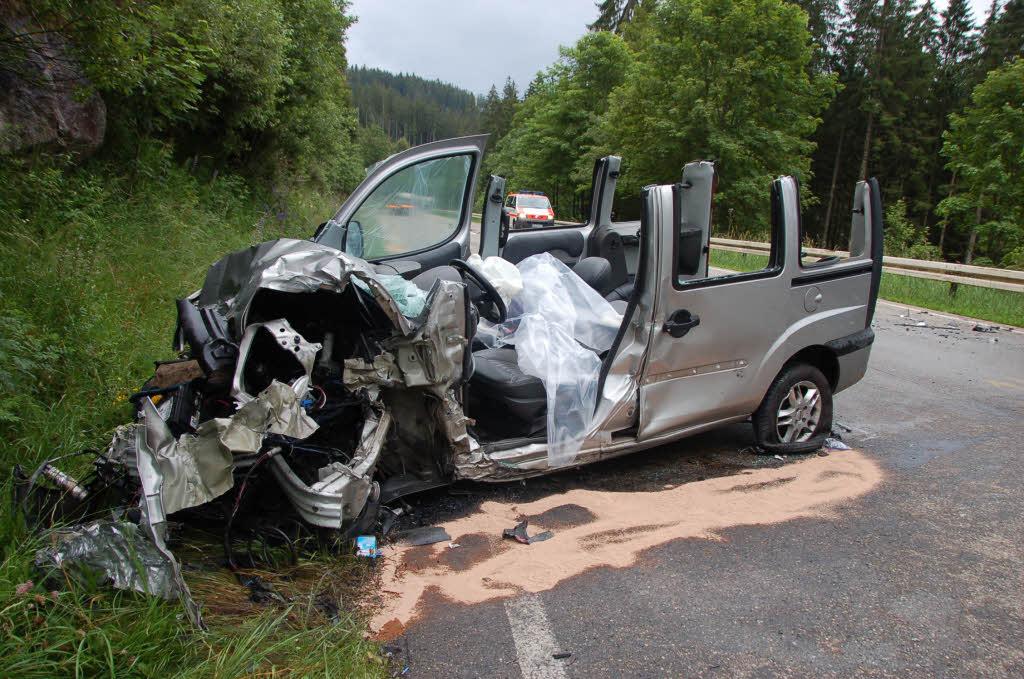 B500 Unfall