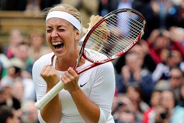 Wimbledon: Sabine Lisicki siegt sensationell gegen Scharapowa