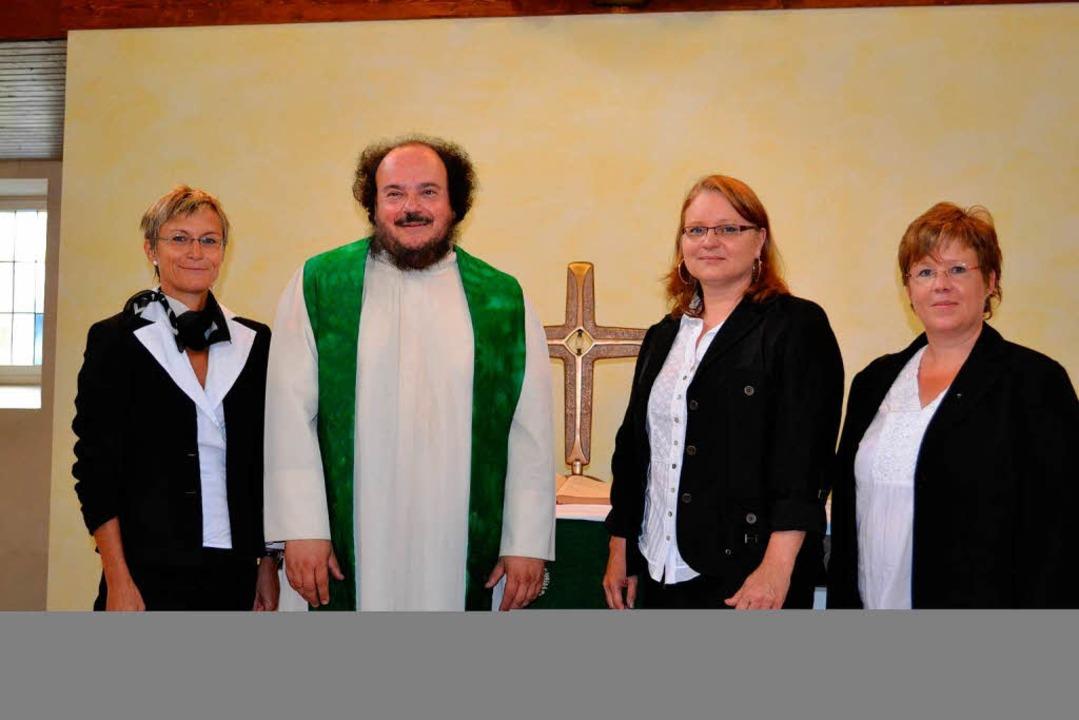 Christian Rave will Pfarrer für Tegern...n Susanne Roßkopf aus Schlächtenhaus.     Foto: paul berger