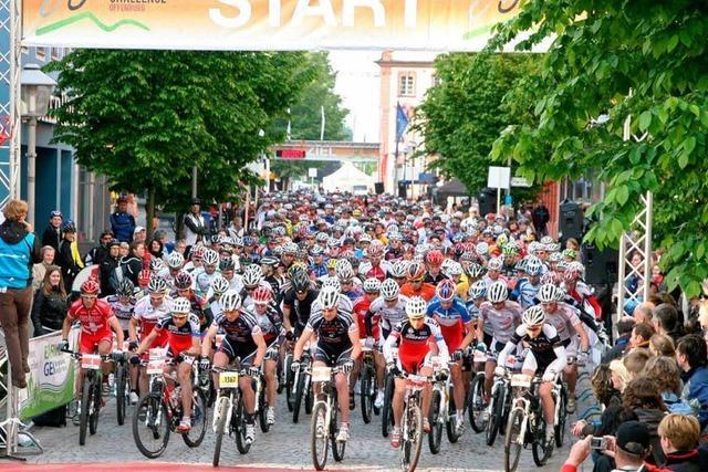 Worldclass Mountainbike Challenge: 1500 Mountainbiker in Offenburg