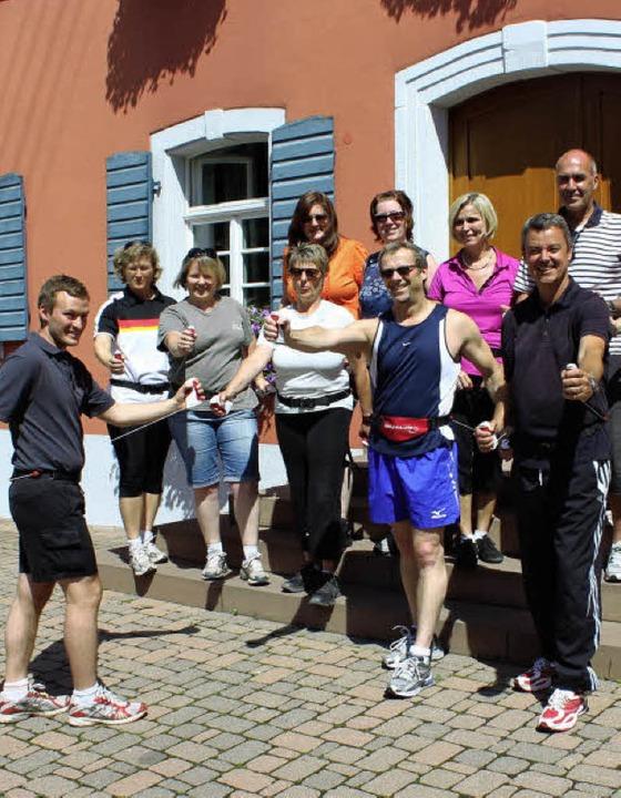 Zusammen haben die Gottenheimer  abgespeckt.   | Foto: Schöneberg