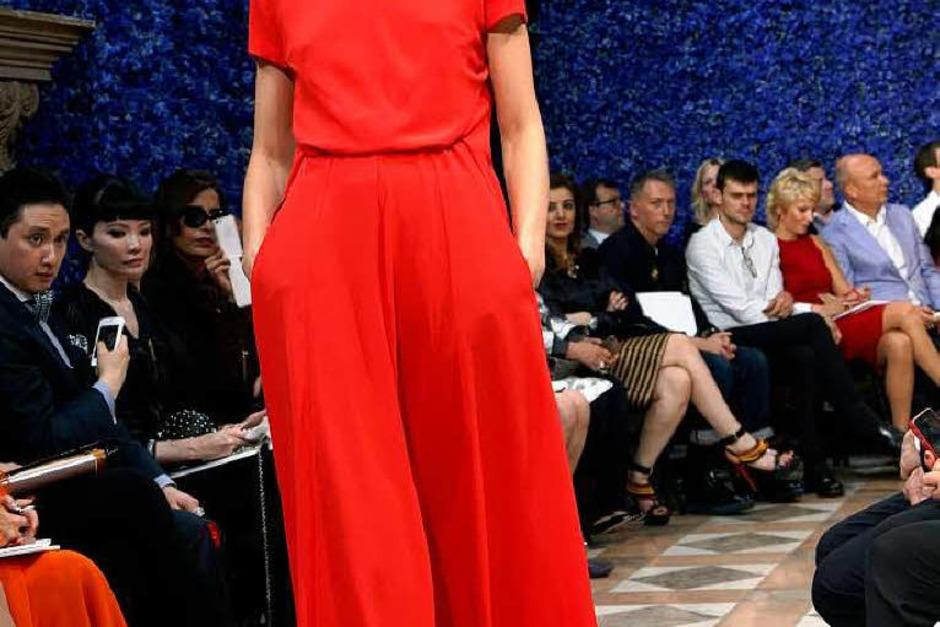 Schlicht schön: Kleid von Dior (Foto: AFP)