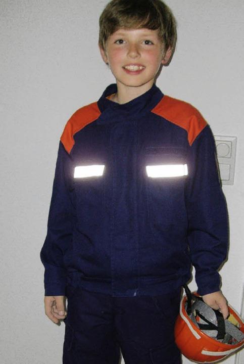 Feuerwehrjunge Niklas   | Foto: privat