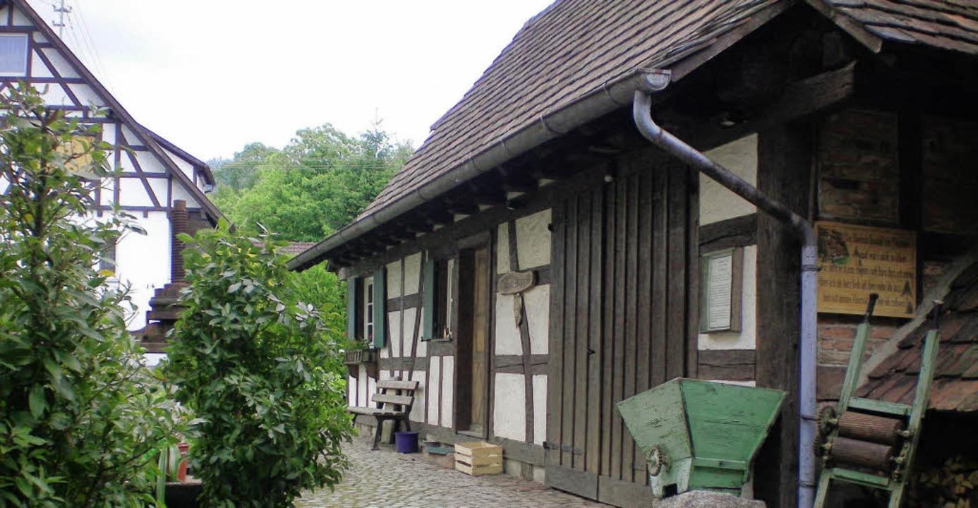 Erzählt schon eine lange Geschichte: das Taglöhnerhaus.   | Foto: privat