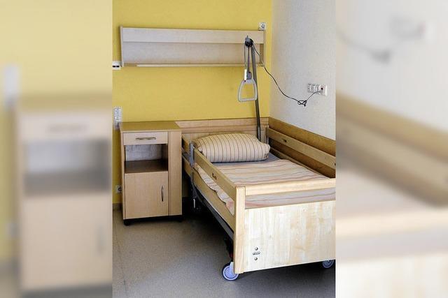 Pflegeplätze reichen nicht