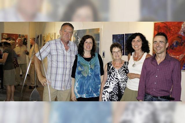 Fünf Kunstschaffende stellen sich vor