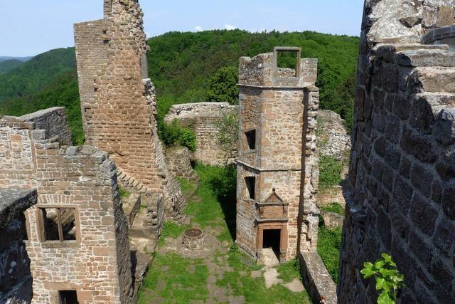 Ein Weg und vier Burgen