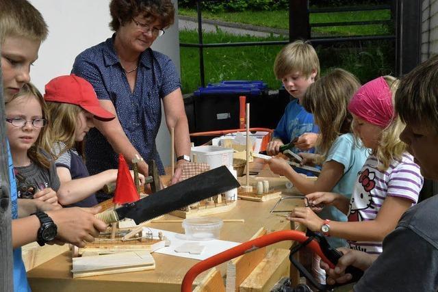 Holztage in der Zwergschule