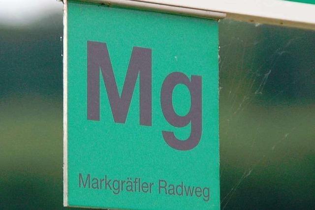Der Markgräfler Radweg