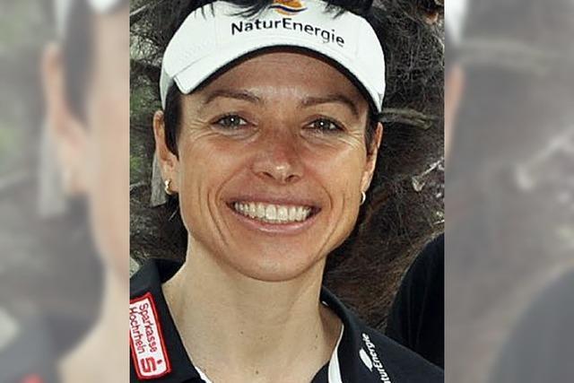 Sabine Spitz will aufs Siegerpodest