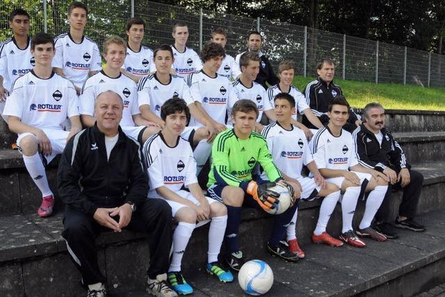 Der stolze Nachwuchs der großen FC-Familie
