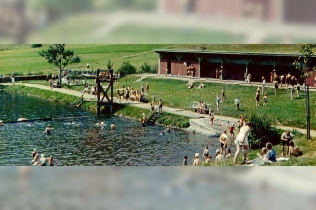 Vom Stauweiher zum modernen Bad