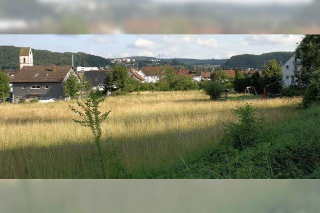 Ein Wohngebiet am Soormattbach