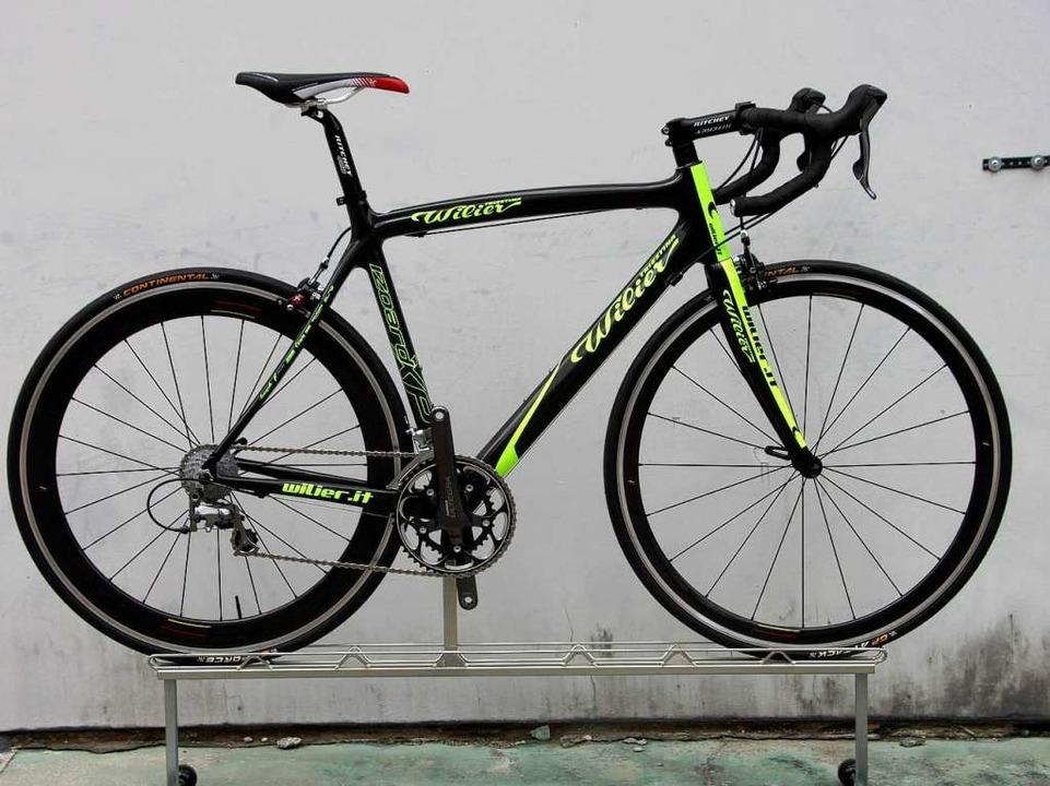 Rennräder sind echte Leichtgewichte. U...che Einstieg liegt bei rund 1000 Euro.  | Foto: Kleinhans