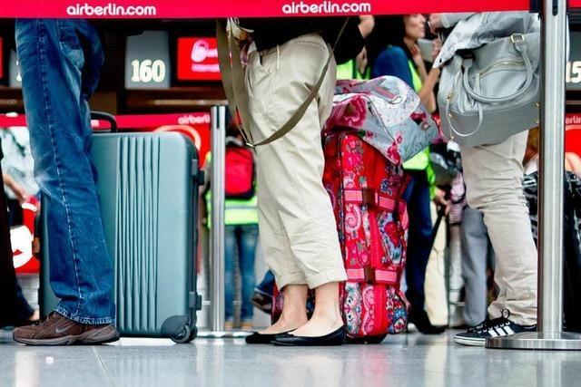 Schlichter sollen Flugreisenden helfen
