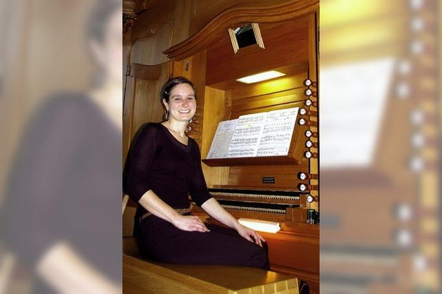 Klangspektrum der Orgel ausgeschöpft