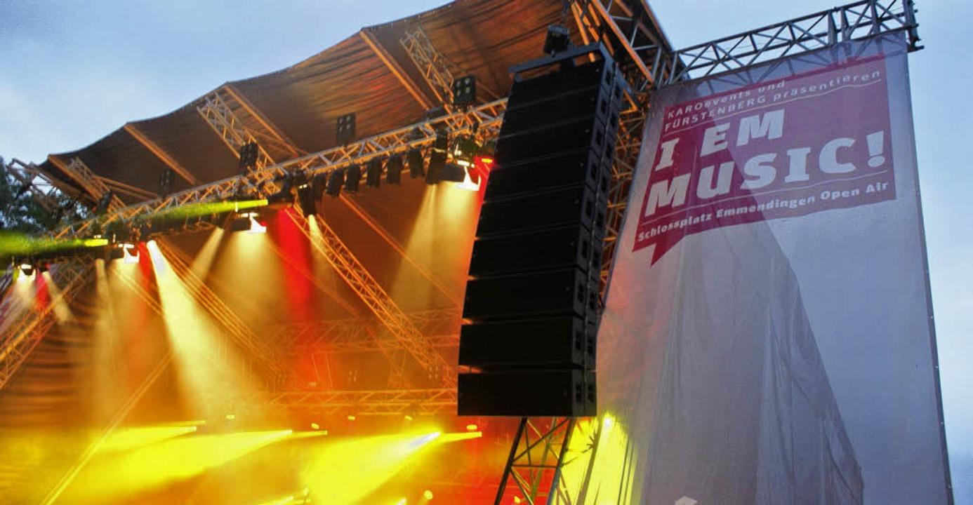 Der Schlossplatz steht beim Festival &...8220; wieder drei Tage im Rampenlicht.  | Foto: Hans-Jürgen Truöl