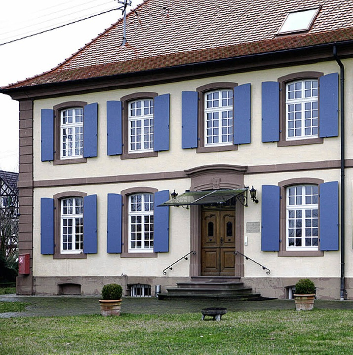 Das Pfarrhaus Wittenweier  | Foto: Christoph Breithaupt