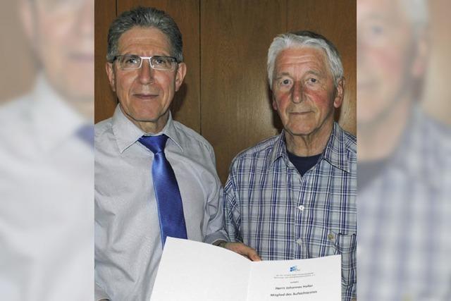Auszeichnung für Altstadtrat Johannes Haller