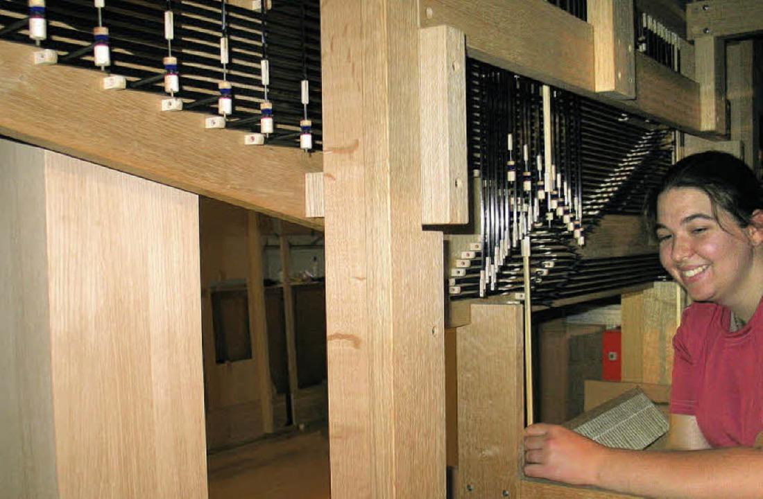 Orgelaufbau Bamlach  | Foto: Jutta Schütz