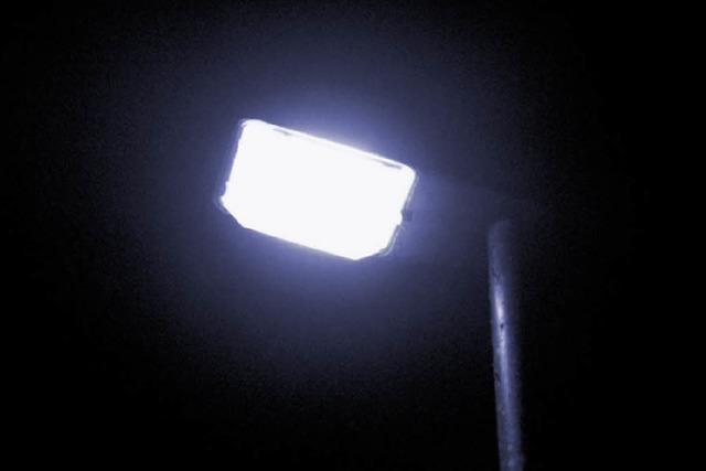 Mehrheit für Beleuchtung auf Knopfdruck