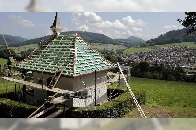 Neues Dach für die Kapelle