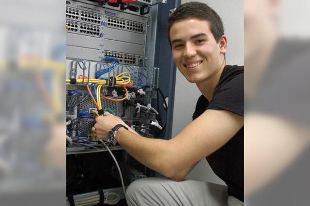 Ausbildungsberuf Fachinformatiker: Der Job von Daniel Monteiro-Borges ist nichts für Nerds
