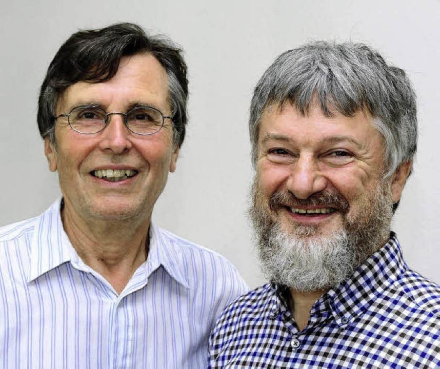 Peter Kallenberger (links) geht nach 2...er Telefonseelsorge in den Ruhestand.     Foto: thomas kunz