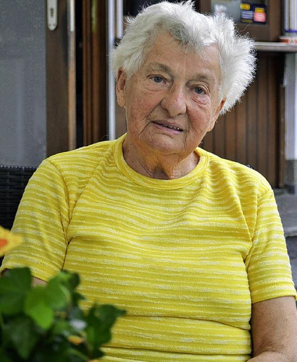 Hilda Lederer (90)   | Foto: Paul Berger