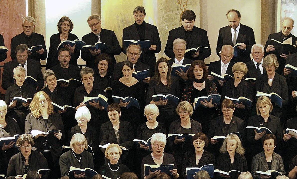 Die Offenburger Kantorei singt in der Auferstehungskirche.   | Foto: PR