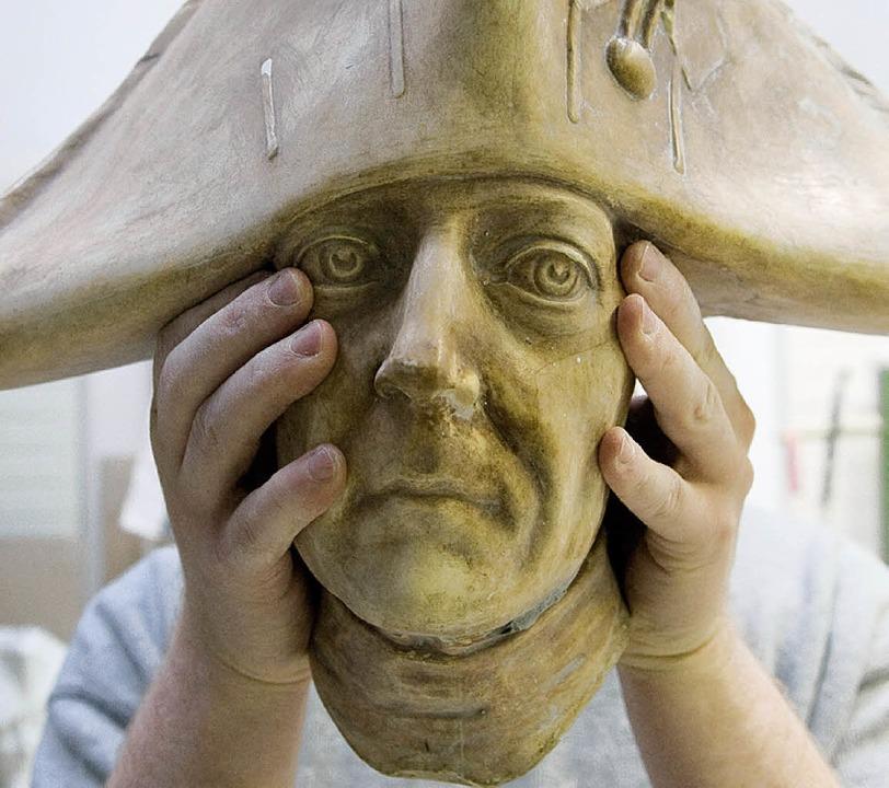 Eines von Friedrichs Gesichtern  | Foto: dpa/dapd