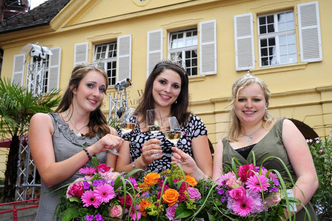 Katharina Zimmer (Mitte) ist  in Freib...echts) aus Lichtenau im Kreis Rastatt.  | Foto: Thomas Kunz