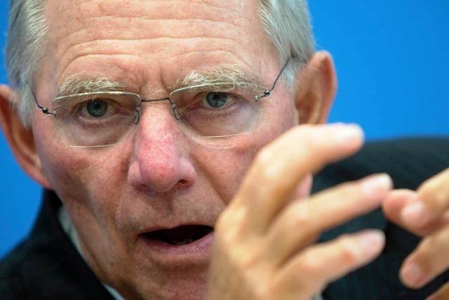 Schäuble kandidiert erneut für den Bundestag