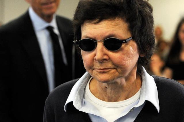 Gericht: Verena Becker leistete