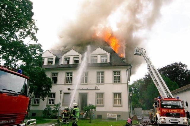 Großbrand in Offenburg: Stadt will die Villa Bauer wieder aufbauen