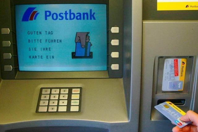 Postbank-Geldautomaten: Leitungsproblem legt Geräte lahm