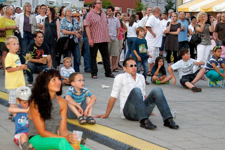 Das Lahrer Stadtfest. (Foto: Heidi Foessel)