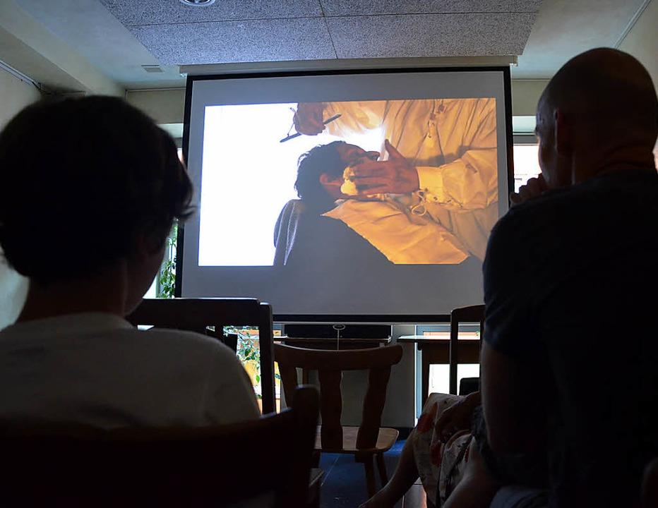 "Zehn Filme schaute sich das Publikum a...Preis bei ""Selber drülle"".  | Foto: Barbara Ruda"