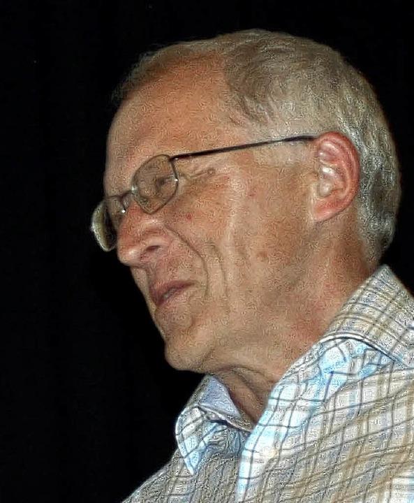 Björn Jundt erhielt den Publikumspreis.  | Foto: Barbara Ruda