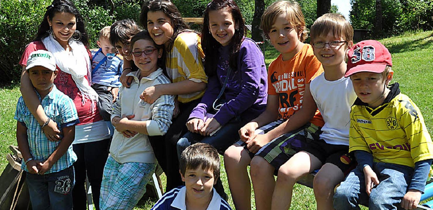 Viel Spaß hatten die Kinder beim Tag d...n (Außenstelle Rickenbach) am Sonntag.  | Foto: Kirsten Lux