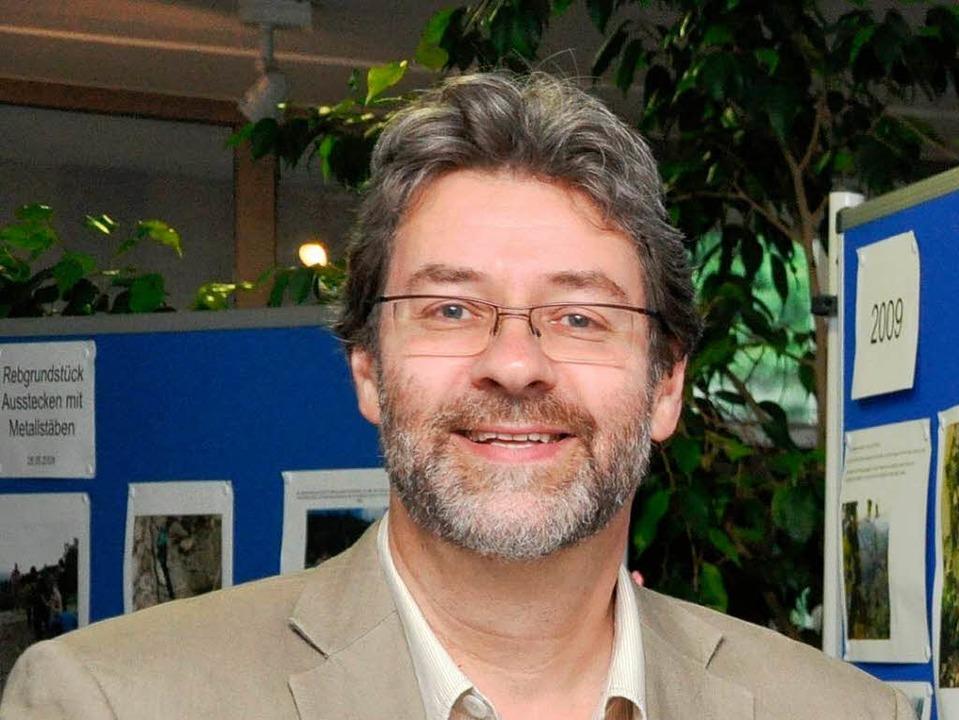 Matthias Auer, Leiter der Ihringer Neunlindenschule  | Foto: Kai Kricheldorff