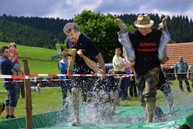 """""""Orne-lympics"""" beim Sommerfest des Skiclubs Langenordnach"""