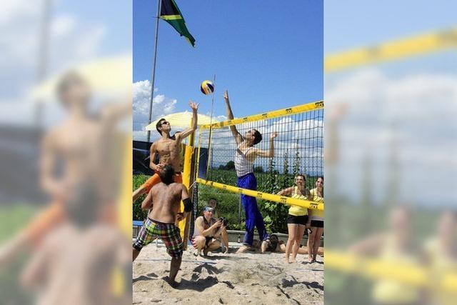 Volleyballturnier in Gündlingen: Mehr als 40 Mannschaften nahmen teil