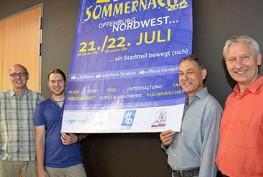 Organisationsteam der Sommernacht in N...h, Rudolf Kothmeier und Freimut Wacker  | Foto: Ralf Burgmaier