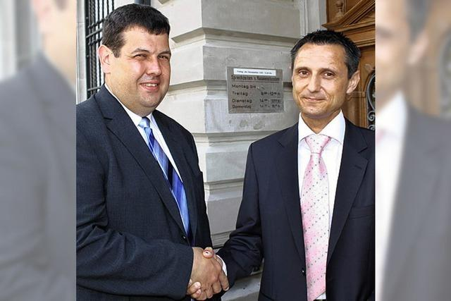 GVV-Burgis bieten die Hand zur Zusammenarbeit