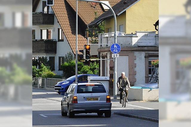 Autofahrer und Radler streiten
